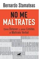 Papel NO ME MALTRATES COMO DETENER Y PONER LIMITES AL MALTRAT  O VERBAL