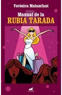 Papel MANUAL DE LA RUBIA TARADA (RUSTICA)