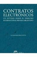 Papel CONTRATOS ELECTRONICOS UN ESTUDIO DESDE EL DERECHO INTERNACIONAL PRIVADO ARGENTINO (COL. DERECHO)