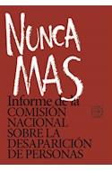 Papel NUNCA MAS INFORME DE LA COMISION NACIONAL SOBRE LA DESAPARICION DE PERSONAS
