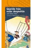 Papel QUERIDO HIJO ESTAS DESPEDIDO (SERIE NARANJA) (10 AÑOS)