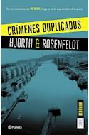 Papel CRIMENES DUPLICADOS (SERIE BERGMAN 2)