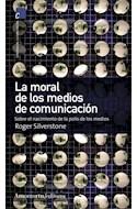 Papel MORAL DE LOS MEDIOS DE COMUNICACION SOBRE EL NACIMIENTO  DE LA POLIS DE LOS MEDIOS