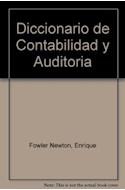 Papel DICCIONARIO DE CONTABILIDAD Y AUDITORIA [CON DISQUETE] (CARTONE)