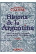 Papel HISTORIA DE LA ARGENTINA DESDE LOS PUEBLOS ORIGINARIOS HASTA EL TIEMPO DE LOS KIRCHNER [2 TOMOS]