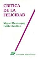 Papel CRITICA DE LA FELICIDAD (COLECCION DIAGONAL)