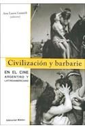 Papel CIVILIZACION Y BARBARIE EN EL CINE ARGENTINO Y LATINOAM