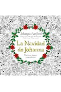Papel NAVIDAD DE JOHANNA UN LIBRO FESTIVO PARA COLOREAR (RUSTICA)