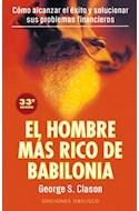 Papel HOMBRE MAS RICO DE BABILONIA COMO ALCANZAR EL EXITO Y S  OLUCIONAR SUS PROBLEMAS (RUSTICO)