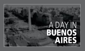 Papel UN DIA EN BUENOS AIRES A DAY IN BUENOS AIRES (CINE DE DEDO) (BOLSILLO)