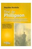 Papel TEST DE PHILLIPSON MELANCOLIAS PSICOSIS MARGINALES ESTR