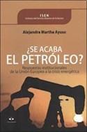 Papel SE ACABA EL PETROLEO RESPUESTAS INSTITUCIONALES DE LA U  NION EUROPEA A LA CRISIS ENERGETICA
