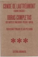 Papel OBRAS COMPLETAS (CONDE DE LAUTREAMONT) [LOS CANTOS DE MALDOROR / POESIAS / CARTAS]