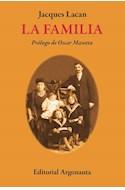 Papel FAMILIA (COLECCION BIBLIOTECA DE PSICOANALISIS) [PROLOGO DE OSCAR MASOTTA] (BOLSILLO)