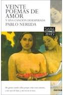 Papel VEINTE POEMAS DE AMOR Y UNA CANCION DESESPERADA - PABLO  NERUDA (CARA Y CRUZ)