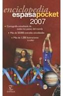 Papel ENCICLOPEDIA ESPASA POCKET 2007 (CON DICCIONARIO INGLES - ESPAÑOL) (CARTONE)
