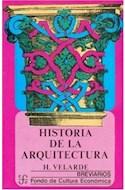 Papel HISTORIA DE LA ARQUITECTURA (BREVIARIOS 17)