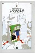 Papel LENGUAJE DE LA PUBLICIDAD (COLECCION TEZONTLE) (CARTONE)