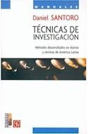Papel TECNICAS DE INVESTIGACION METODOS DESARROLLADOS EN DIARIOS Y REVISTAS DE AMERICA LATINA