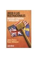 Papel JUICIO A LAS MULTINACIONALES INVERSION EXTRANJERA E IMP