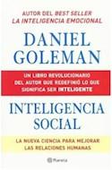 Papel INTELIGENCIA SOCIAL LA NUEVA CIENCIA PARA MEJORAR LAS R