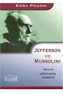 Papel JEFFERSON Y/O MUSSOLINI SEGUIDO DE CREDITO SOCIAL UN IM