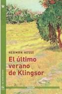 Papel ULTIMO VERANO DE KLINGSOR