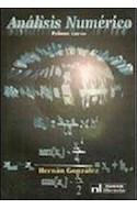 Papel ANALISIS NUMERICO PRIMER CURSO (2 EDICION)