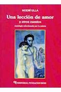 Papel UNA LECCION DE AMOR Y OTROS CUENTOS ANTOLOGIA SELECCION