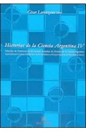 Papel HISTORIAS DE LA CIENCIA ARGENTINA IV