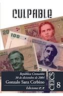 Papel CULPABLE REPUBLICA CROMAÑON 30 DE DICIEMBRE DE 2004