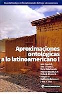 Papel APROXIMACIONES ONTOLOGICAS A LO LATINOAMERICANO 1