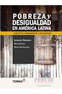 Papel POBREZA Y DESIGUALDAD EN AMERICA LATINA CONCEPTOS HERRAMIENTAS Y APLICACIONES (RUSTICA)