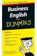 Papel BUSINESS ENGLISH PARA DUMMIES (BOLSILLO)