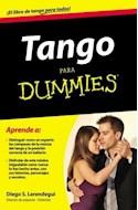 Papel TANGO PARA DUMMIES APRENDE A DISTINGUIR COMO UN EXPERTO  LOS COMPASES DE LA MUSICA DEL TANG