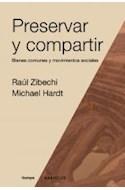 Papel PRESERVAR Y COMPARTIR BIENES COMUNES Y MOVIMIENTOS SOCIALES (SERIE TIEMPO)