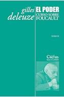Papel PODER CURSO SOBRE FOUCAULT [TOMO II] (COLECCION CLASES)
