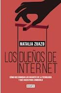 Papel DUEÑOS DE INTERNET COMO NOS DOMINAN LOS GIGANTES DE LA TECNOLOGIA Y QUE HACER PARA CAMBIAR (DEBATE)