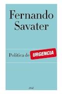 Papel POLITICA DE URGENCIA