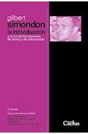 Papel INDIVIDUACION A LA LUZ DE LAS NOCIONES DE FORMA Y DE INFORMACION [2 EDICION]