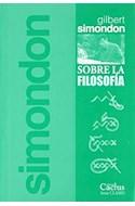 Papel SOBRE LA FILOSOFIA (SERIE CLASES 18)