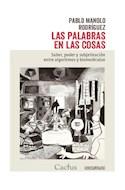Papel PALABRAS EN LAS COSAS SABER PODER Y SUBJETIVACION ENTRE ALGORITMOS Y BIOMOLECULAS (COL. OCCURSUS 26)