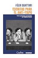 Papel ESCRITOS PARA EL ANTI EDIPO TEXTOS AGENCIADOS Y PRESENTADOS POR STEPHANE NADAUD (COL. OCCURSUS 28)