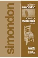 Papel SOBRE LA PSICOLOGIA 1956-1967 (COLECCION CLASES 19)