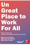 Papel UN GREAT PLACE TO WORK FOR ALL