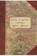 Papel LIBRO DE APUNTES 1990-2014 (RUSTICO) (ILUSTRADO)
