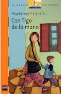 Papel CON TIGO DE LA MANO (BARCO DE VAPOR NARANJA) (9 AÑOS)