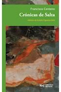 Papel CRONICAS DE SALTA (BIBLIOTECA DEL NORTE) (RUSTICA)