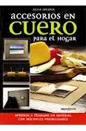 Papel ACCESORIOS EN CUERO PARA EL HOGAR