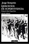 Papel EJERCICIOS DE SUPERVIVENCIA (COLECCION ANDANZAS)